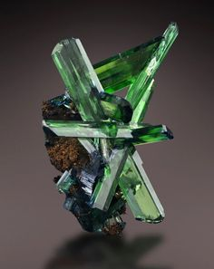 A love for minerals.            BEAUTIFUL !