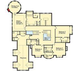 Three Levels of Luxury - 9543RW floor plan - Second Level