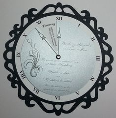 Hey, I found this really awesome Etsy listing at https://www.etsy.com/listing/196901230/clock-wedding-invitations-new-years-eve