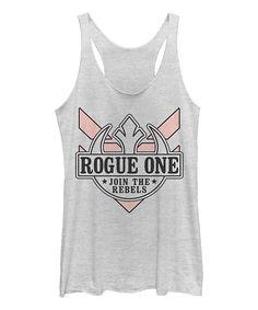 Women's Fifth Sun x Star Wars Rogue One Join The Rebels racerback tank top