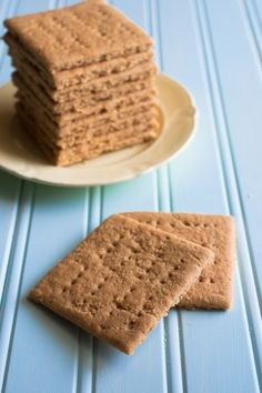 Gluten Free Graham Crackers - a bit rice-y, I think I would use this recipe again with my own flour mix (probably one with almond flour)