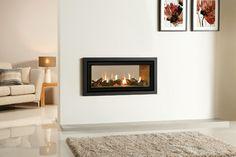 Gazco Studio Duplex Double Sided Gas Fireplace modern fireplaces