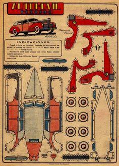Automovil Moderno (vintage) - PaperModelers.com
