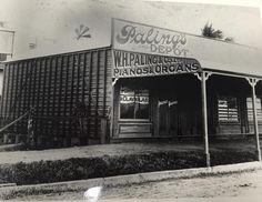 Paling's Music Depot in Toowoomba (year unknown). Open Up, Australia, Explore, History, Street, Music, Historia, Roads, Muziek