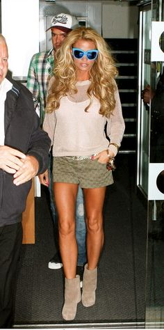 Katie Price- best hair ever! +Love this whole outfit