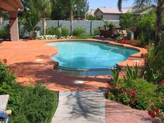 Painted Concrete around Pool | Color Eclipse Painting - Photo gallery pool decks/doors