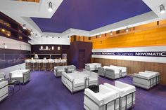 Interior de NOVOMATIC. COOC Alternativa de Diseño.