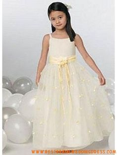 Attractive Spaghetti Sash Satin Flower Girl Dress on sale, a perfect Flower Girl Dresses with high quality and nice design. Buy it now or discover your Flower Girl Dresses Pretty Flower Girl Dresses, Flower Girls, Dresses For Sale, Girls Dresses, Baptism Gown, My Perfect Wedding, Embroidered Clothes, Satin Flowers, Best Wedding Dresses