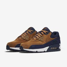 brand new b72dd 5bbb6 Nike Air Max 90 Premium Men s Shoe Nike Air Max Hombre, Nike Trainers, Brown