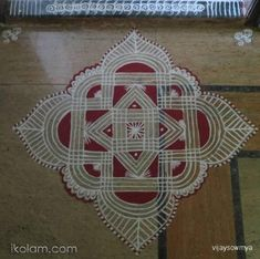 Friday - Padi Kolam, by Sowmya