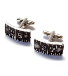 Vintage Stanley Ruler Cufflinks | Collections Vintage Finds | JacQ | Scoutmob Shoppe | Product Detail