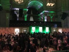Thank you to the New York Jets for raising funds & awareness for #lupus research at this year's Jets Kickoff Luncheon!