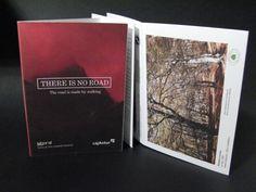 Catalogo exposición de There is no Road. Laboral Centro de Arte.