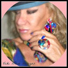 Summer Festival Ring by VickiDianeDesigns on Etsy, $22.00