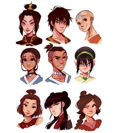 Avatar Aang, Avatar Airbender, Suki Avatar, Avatar Legend Of Aang, Team Avatar, Aang The Last Airbender, Zuko, Legend Of Korra, Fan Art Avatar