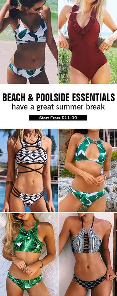 This summer is gonna be so lit! Have a great summer holiday! High quality & Better service! We have best selling swimwear for every girl. Dream of seaside or beach party? It is your best choice. Shop Now!