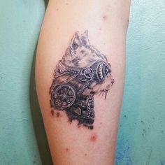 -steampunk- #tattoos #tattoo #sstattoodesign #umtdnzz