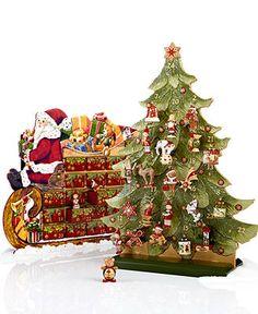 Villeroy & Boch Advent Calendar 2012, 25 Piece Set, $358
