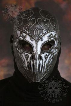 Steampunk Masque-Nightmare Kitty-Gothique Accessoire futuriste Costume Masque