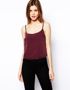 Enlarge ASOS Cropped Double layer Cami