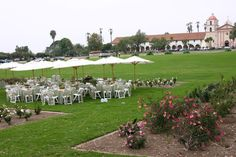 The Mission Rose Garden is an icon of Santa Barbara, and a stunning location for a wedding ceremony.