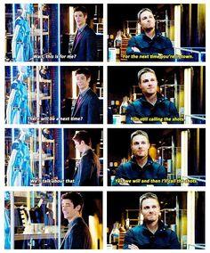 Arrow - Barry and Oliver #3.8 #Season3 ♥
