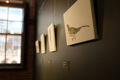 'Static Biota' exhibition featuring works by artist Emma Lindsay