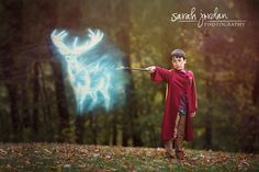 Harry Potter photo session Halloween