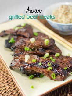 #Recipe / Asian Grilled Beef Steak