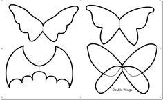 Cómo hacer alas para disfraz de cualquier clase, murciélago, mariposa, hada