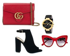 Bez tytułu #30 by ania-idziak on Polyvore featuring moda, Gucci and Dolce&Gabbana