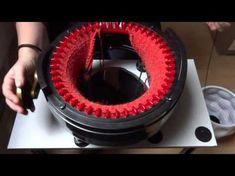 Poncho stricken mit der Strickmaschine addiExpress Kingsize - YouTube