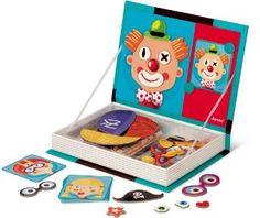 Magnetibook Crazy Face Play set for kids - This toy is ready for lots of goofy laughs!