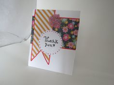 Thank You card by InkyAshley on Etsy