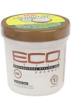 Coconut Styling Gel Eco Style www.rizadoafroymas.es