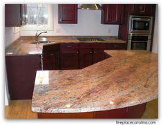 Crema Bordeaux Granite Countertops | Http://www.fireplacecarolina.com | Granite  Countertops | Charlotte NC | Pinterest | Bordeaux, Granite Countertops And  ...