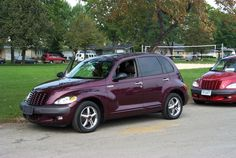 2001 PT Cruiser - Stan brought this home on MY birthday...only thing is, it was to be HIS work car!