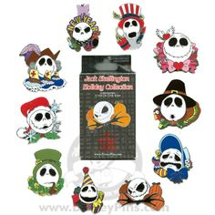 Your WDW Store - Disney Mystery Pin & Card Collection - Holiday Jacks - 2 Random Pins Disney Pin Trading, Rare Disney Pins, Disney Pins Sets, Disney Dream, Disney Magic, Collection Disney, Mickey Mouse Pins, Disney Pin Collections, Disneyland Pins
