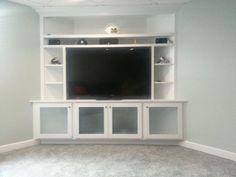 built in corner entertainment center - Google Search