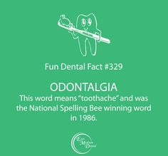 Our fun dental facts are guaranteed to make you smarter! #themoreyouknow #dentalcare #dental #dentalhumor #dentaltips #oralhealth #oralcare