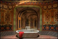 This amazing technicolor castle has been abandoned for more than 20 yearsThe Castello di Sammezzano is a show-stopper, a jaw-dropper. Hidden away in the Tuscan hills of Northern Italy, this...