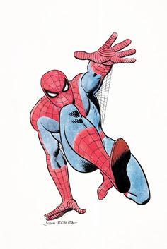 John Romita Sr. Amazing Spider-Man Specialty Illustration Original Art (c. 1960s).