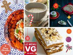 Menu VG du vendredi – un noël vegan Kiwi, Green Lifestyle, French Toast, Breakfast, Christmas, Noel, Vegetarian Cooking, Greedy People, Recipe