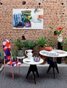 Peças repletas de estilo para a mesa. Acessórios inspirados no décor da chef Helena Rizzo