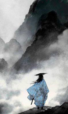 Ibuki Satsuki is a Chinese illustrator