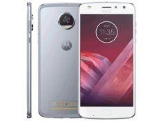 """Smartphone Motorola Moto Z2 Play 64GB Azul Topázio - Dual Chip 4G Câm. 12MP + Selfie 5MP Tela 5.5"""" com as melhores condições você encontra no Magazine Linkttel. Confira!"""