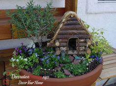 Mini Garden Decoration  Visit my site for more info :)  http://www.decorationdesigns.xyz/interior-design/2016-mini-garden-decoration.html