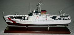US Coast Guard Cutter - Custom Mahogany Ship Model
