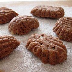 Rychlé cukroví, které není třeba válet ani vykrajovat, protože se peče ve formičkách. Báječně voní po čokoládě, oříšcích a kardamomu Gluten Free Cookies, Gluten Free Baking, Czech Recipes, Pavlova, Holiday Cookies, Desert Recipes, Baked Goods, Baking Recipes, Deserts