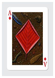 Shop: Tony Meeuwissen: Ace of Diamonds at Folio illustration agency Playing Cards Art, Custom Playing Cards, Illustrations, Illustration Art, Photo Wall Decor, Cartomancy, Magic Cards, Buy Prints, Deck Of Cards